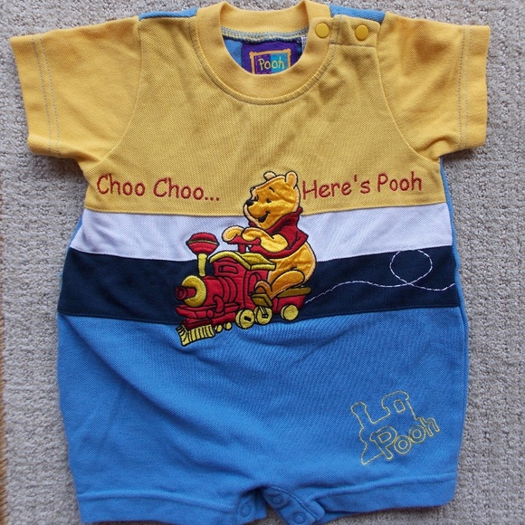 Boys' Clothing (newborn-5t) Helpful Disney Baby Longsleeve One Piece Mickey Mouse Size 6-9 Months
